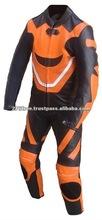 Biker Speed Demons Kids Motorcycle Minimoto Full Leather Race Suit