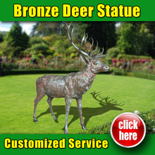 Hot Selling Deer Statue London with High Quality C