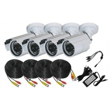 Night Vision Cam 600tvl & HDMI DVR Security 4ch Cheap CCTV Camera Kit