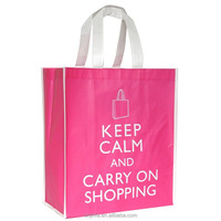 laminated non woven tote bag for promotion