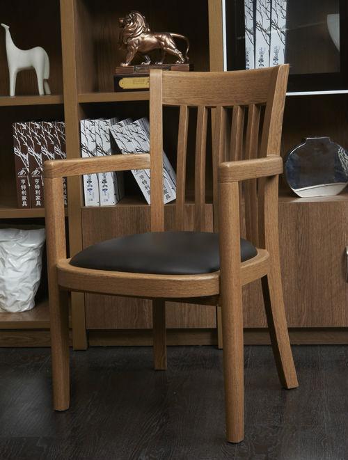 HTL30 현대 나무 의자 중국 가죽 사무실 의자/간단한 팔 사무실 ...