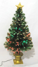 Christmas Decorations LED optical fiber Christmas tree with star topper