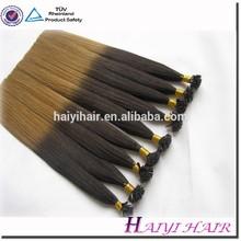 Double Drawn!!!100% Remy Hair Pre-bond Hair Mini Tip
