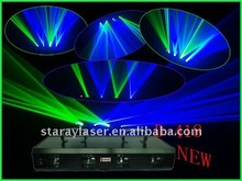 D-418 RB Four lens with green & blue different colors disco laser light