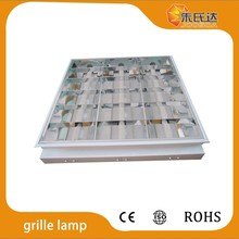parabolic fluorescent fixture T8, LED tube T8 grille lamp, recessed louver fitting