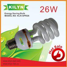 good reputation half spiral energy saving bulbs