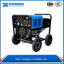 Xionggu 220A Gasoline engine welder SMAW CRISP SMAW SOFT GTAW for pipe welding