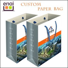 Strong Handles recycle gift paper bag for papckage from Real estate
