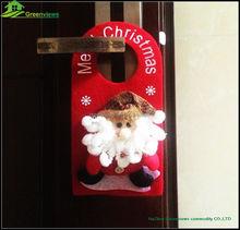 Súper ventas de la puerta colgando navidad de santa decoración colgante de la navidad decoración de navidad puerta ornamentBGSY1035