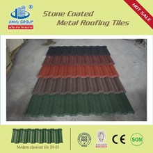 CLASSICAL COLORFUL STONE COATED METAL ROOFING TILE