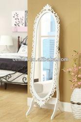 White Mirror Jewelry Cabinet Furniture jewelry Stores