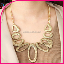The new promotion accessories women's antique alloy necklace