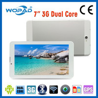 Wopad Wholesale Built-in GPS MTK6572 Dual core Android Cheapest Phone Tablet,7 inch Tablet pc