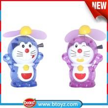 Mini Plastic Hand Fan Toy , Kids Mini Hand Fan Toy , Mini Fan with Candy