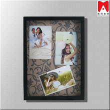 Shadow box magnetic photos frame How To Display Posters On The Wall Magent Frame Display Technology Baseball Bat Wall Display