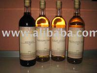 White wine -Italian Riesling, Sauvignon Blanc and Muscat Ottonel