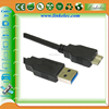 China wholesale shielded awg24 28 gold plated micro usb data cable