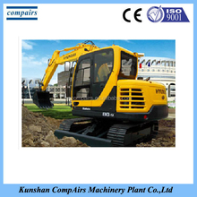 New digital era of modern HYUNDAI Medium-sized excavator 8-40T R80-9