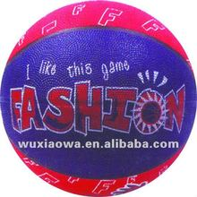 Hot toys usa/custom rubber basketball ball/ game testing for kids(RB124)