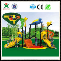 2014 new outdoor playground wholesale / kids outdoor playground items / children outdoor playground equipment (QX-048A)