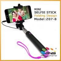 2015 New Model selfie extender wand Monopod for iPhone 5S
