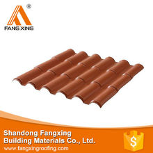 Trading & supplier of China products synthetic resin pvc, ridge roof tiles