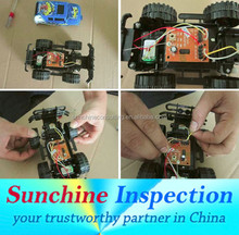 Remote Control Car Quality Control and Inspection Service in Linhai, Taizhou, Jiaxing, Hangzhou - Professional QC Team