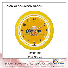 Wall decoration Neon clock/LED clock 12NC103