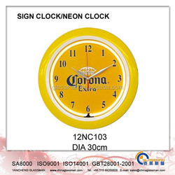 Wall decoration Neon clock/LED clock 12NC103