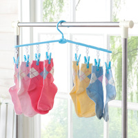 N267 Multifunctional Tiny Round Plastic Clothes Hanger