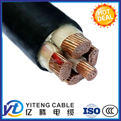 china power cable manufacturing power cable 4x16mm2 copper core cable 16mm