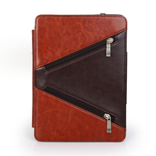 """2015 New PC Universal Adjustable Flip Hard Leather Stand Case Cover For 7"""" tablet"""