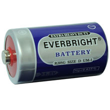 Wide varieties D 1.5V R20 china.torch power battery