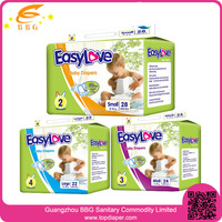 The cheapest thick wholesale baby disposable diapers manufacturers china