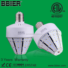 High power >110lm/w 60w lamp parking lot bulb 6000k