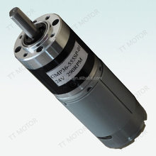 36mm 4 gear ratio dc gear head motor and gearbox planetary