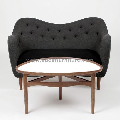 Replica modern classic furniture finn juhl sofa model 4600 for Modern classic furniture