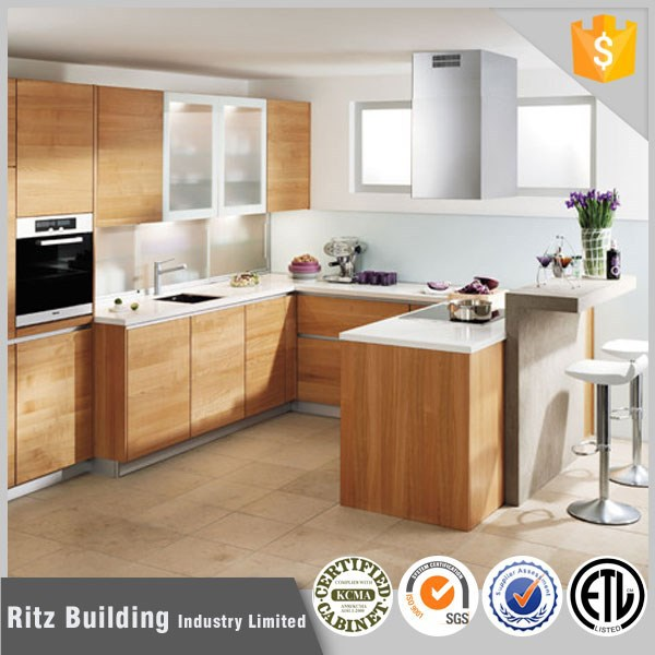 wholesale kitchen cabinets design full set kitchen cabinet prefab furniture modular kitchen cabinet set with flat
