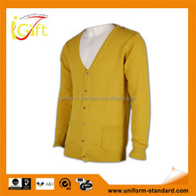 China Manufature 2015 fitness own design cardigan cashmere