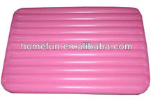 ICTI customized inflatable car bed / travelling mattress