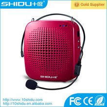 megaphone with lithium battery wired microphone low power consumption