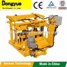 new arrival 2015 qt40-3a hollow block making machine