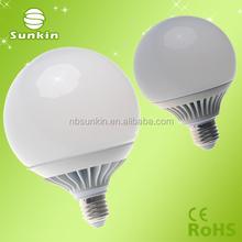 e27 led aluminum and plastic g120 lampada led e27 Led Globe