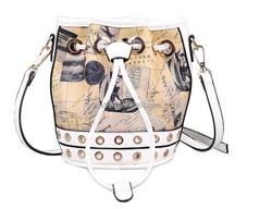 Trendy Women Bag Drawstring Shoulder Bag Totes Purse Messenger Bag