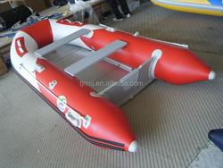 MEI SHENG JIA Rubber Korea PVC Collapsible Fishing Boat Inflatable Boat