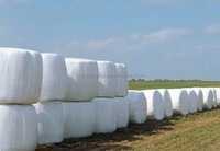 packaging plastic green silage bale wrap film