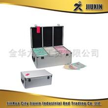 High Quality Aluminium CD Box,storage case,CD aluminum case
