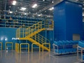Industrial mezzanine plataforma para almacén