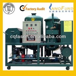 Allparticles removing portable oil recycling machine