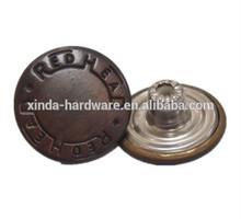 19mm, sujetador de prendas de vestir, chaqueta de botones de metal